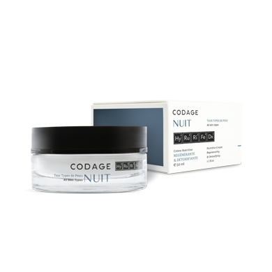 Codage nuit Regenerating and detoxifing night cream